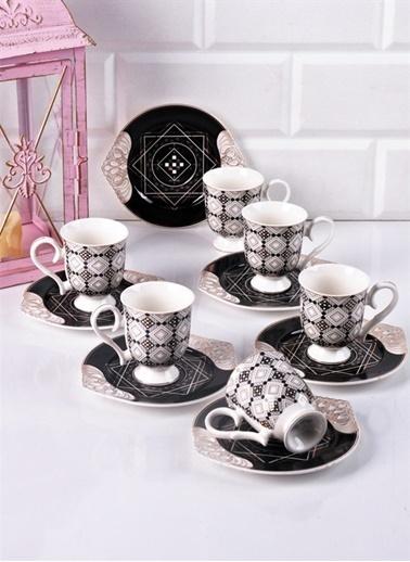 Bayev Lüx Ayaklı Kahve Fincanı No 4 Renkli